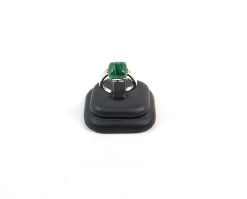 Anello in Malachite e Argento 925