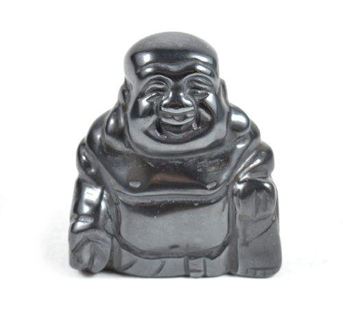 Buddha in Ematite. Soprammobile, Idea Regalo